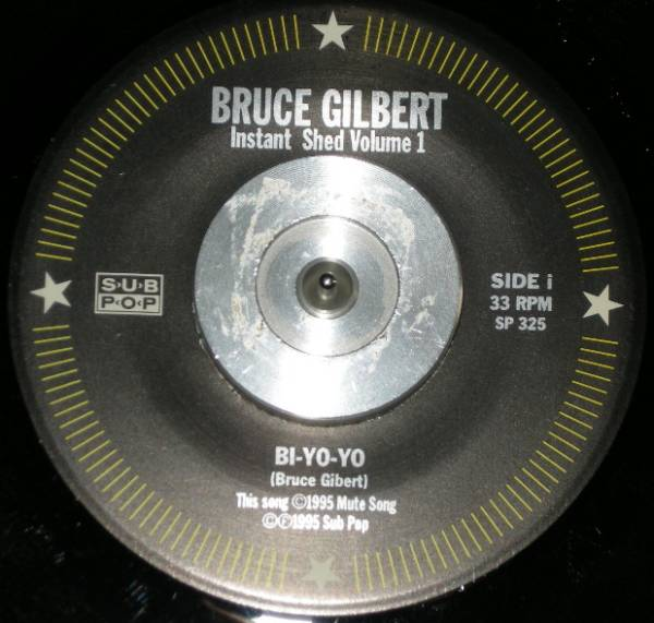 Bruce Gilbert(Wire) 4CDs